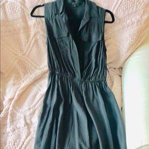 All Saints Button Tank Dress size 2